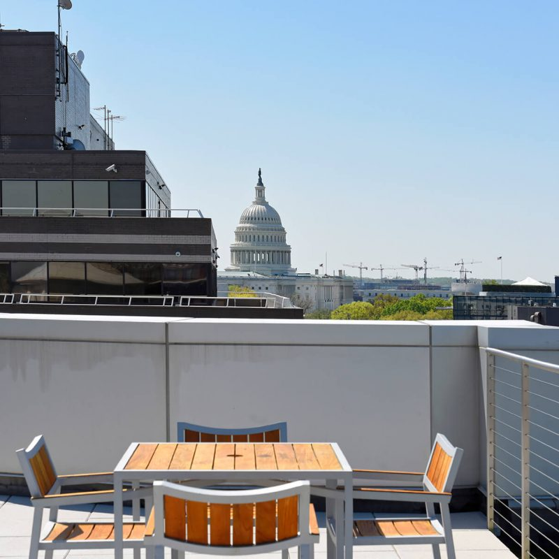 View of the US Capitol