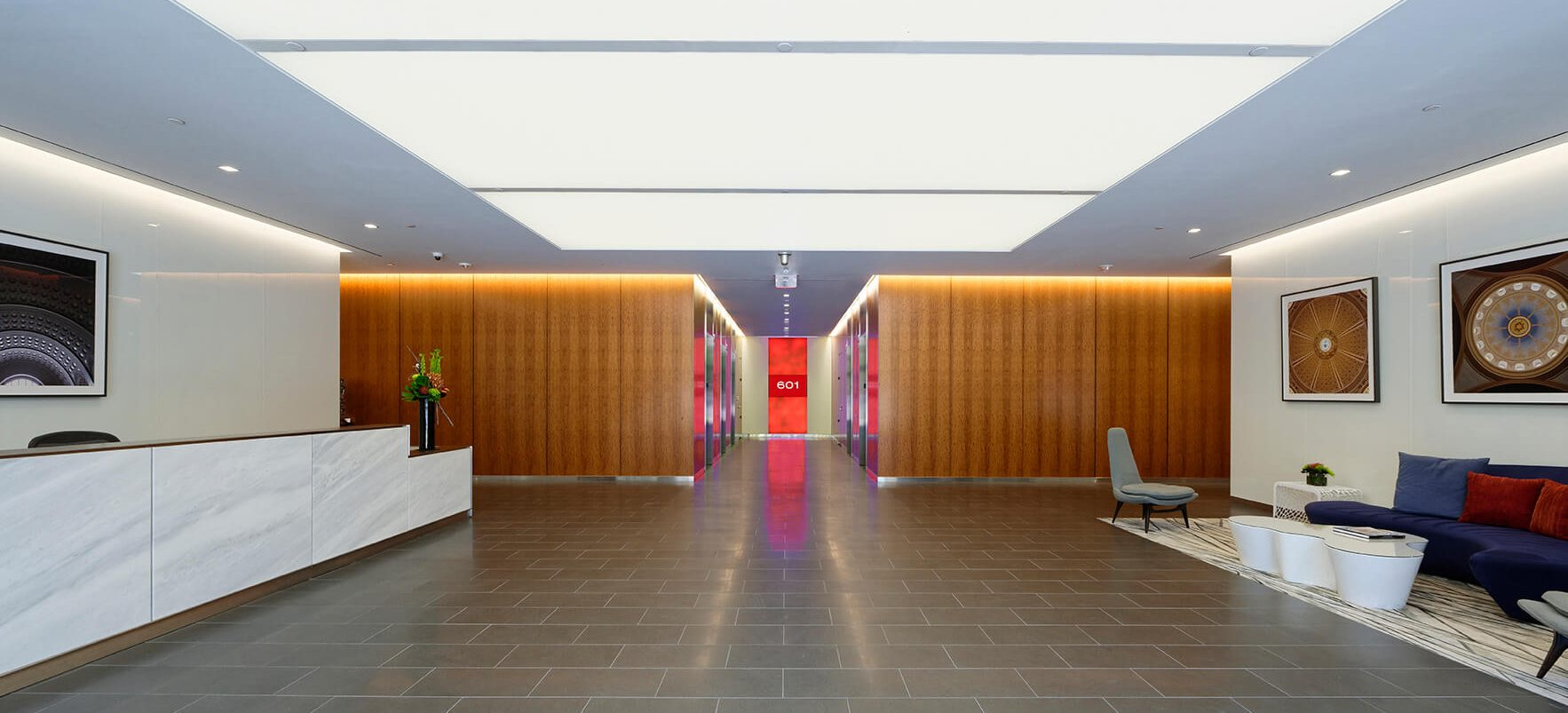 601 New Jersey Avenue lobby